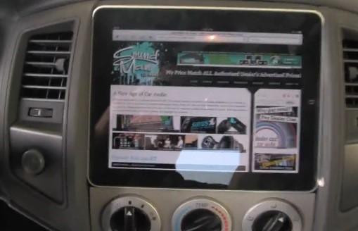 iPad voiture