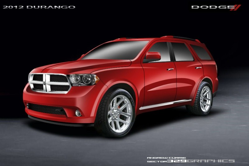 dodge durango 2011 les premiers dessins blog automobile. Black Bedroom Furniture Sets. Home Design Ideas