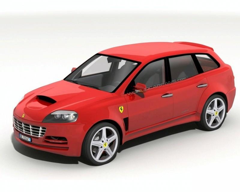 Quot Si Vous Voulez Une Ferrari 4 Portes Achetez Une