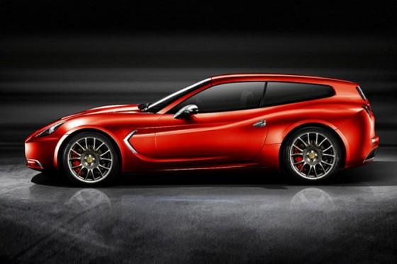 Ferrari Shooting Brake Une Ferrari Pour Faire Les