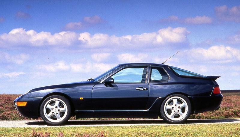 Porsche 968 side