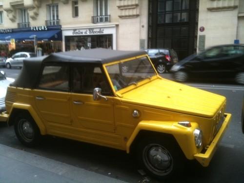vw 181 ou la chose en plein paris blog automobile. Black Bedroom Furniture Sets. Home Design Ideas