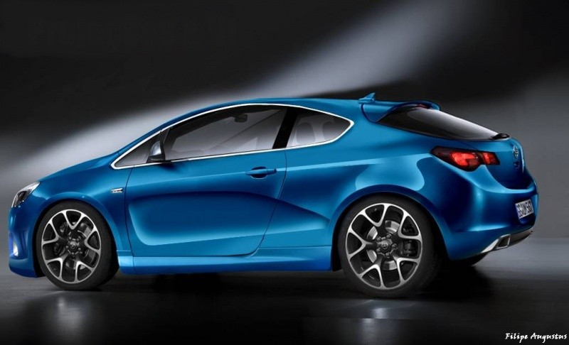 opel astra gtc 2011. Opel Astra 2011 : Des