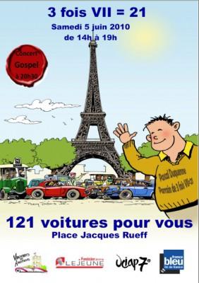 [EXPOSITION] 121 voitures pour vous à Paris 121-voitures-contre-la-trisomie-21-282x400