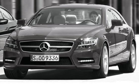 2011 mercedes benz CLS 560x340 Mercedes CLS 2011 : Spyshots, previews et vidéo