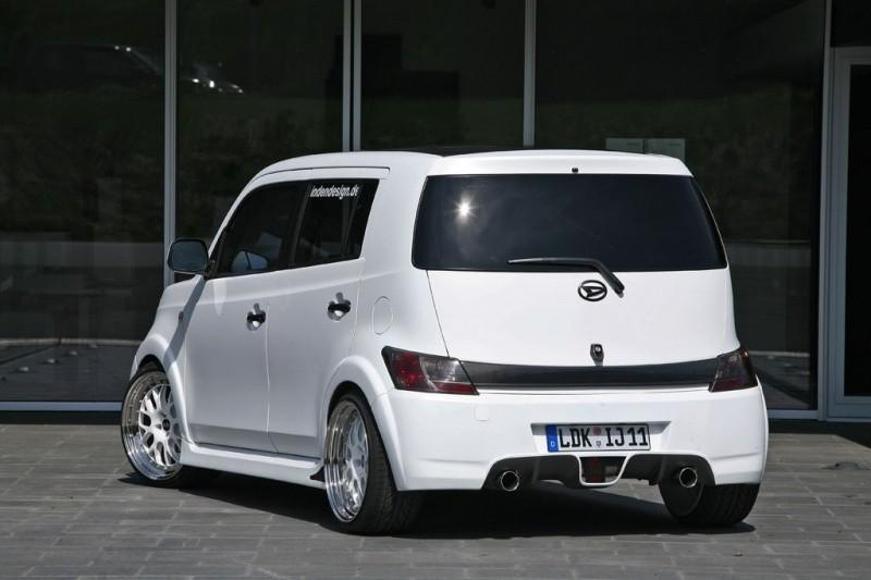 Modified Daihatsu Materia. Daihatsu Ice Cube by Inden