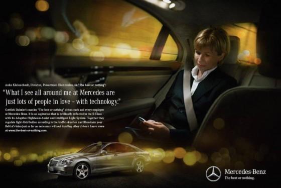 MB.1 560x374 Après Joy is BMW, voici The best or nothing par Mercedes