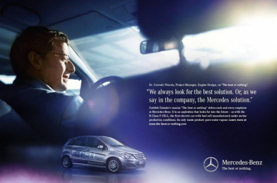 MB.3 560x371 Après Joy is BMW, voici The best or nothing par Mercedes