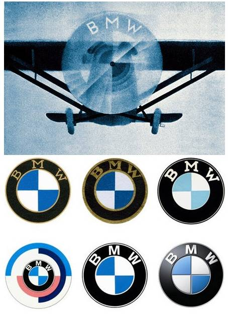 bmw l 39 origine du logo bleu et blanc blog automobile. Black Bedroom Furniture Sets. Home Design Ideas