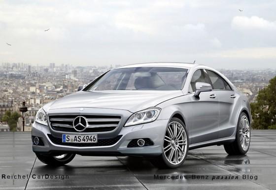 mercedes CLS 2011 elelgance ou avantgarde 560x385 Mercedes CLS 2011 : Spyshots, previews et vidéo