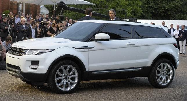 range rover evoque la c r monie de lancement en vid o m j photographique blog automobile. Black Bedroom Furniture Sets. Home Design Ideas