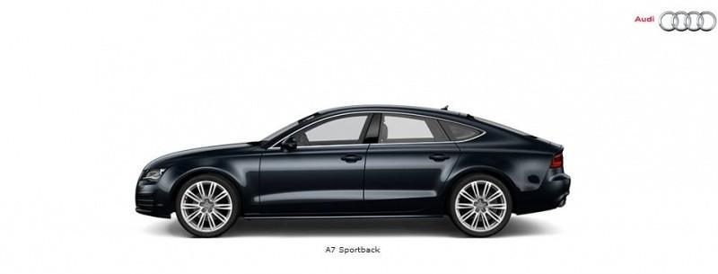 Audi a7 sportback en configurateur et en vid o blog for A7 auto pieces jardin