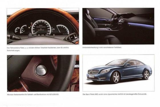 MB CL 2011.61 560x375 Mercedes CL 2011 : Sur catalogue + [MàJ photo et vidéo]