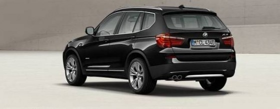 bmw x3 2011 le configurateur light blog automobile. Black Bedroom Furniture Sets. Home Design Ideas
