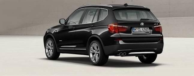 bmw x3 2011 le configurateur light blog automobile. Black Bedroom Furniture Sets. Home Design Ideas