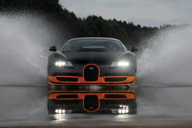 bugatti veyron supersport : 1200 chevaux et 434 km/h en vmax