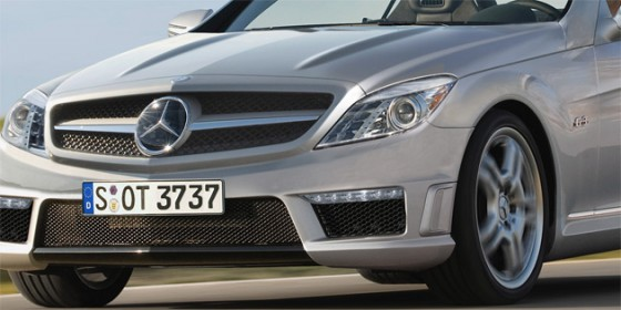 2011 mercedes benz slk rendering1 560x280 Mercedes SLK 2011 : Spyshot vidéo