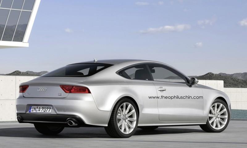 Audi a7 variations sur un th me blog automobile for Statut illustrateur