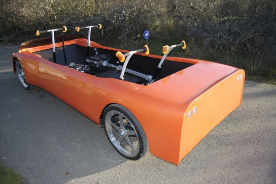 humancar la premi re hybride force musculaire moteur lectrique vid o blog automobile. Black Bedroom Furniture Sets. Home Design Ideas