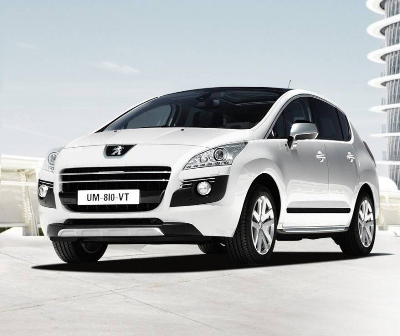 peugeot 3008 hybrid4 le premier crossover diesel hybride du march blog automobile. Black Bedroom Furniture Sets. Home Design Ideas