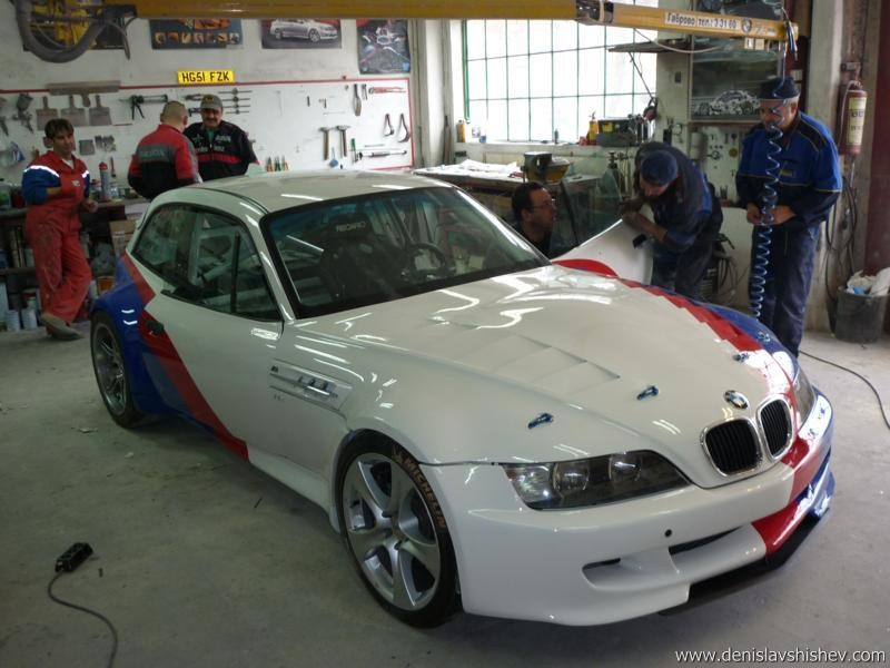 BMW E36/8 V10 : Un beau swap à la bulgare - Blog Automobile
