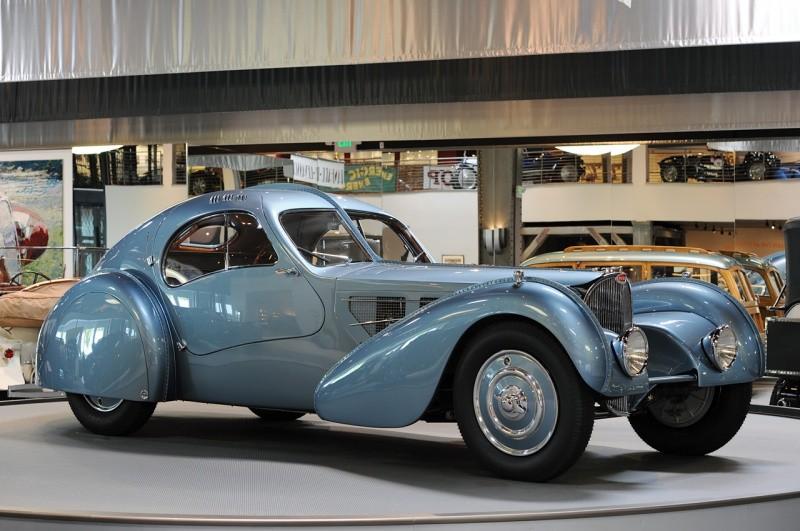 Bugatti Type 57 SC Atlantic : Pour le plaisir des yeux ...