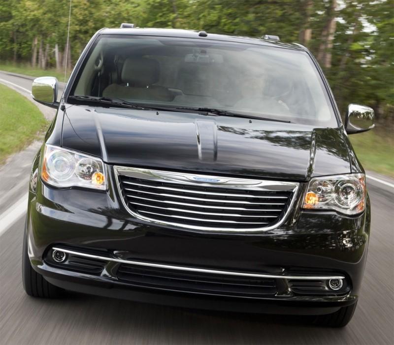 Chrysler Town & Country 2011 : Un Avant Goût De Lancia