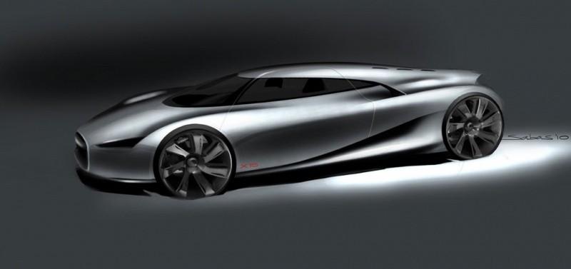 Jaguar C-X75 : Le beau retour de la voiture à turbine ...