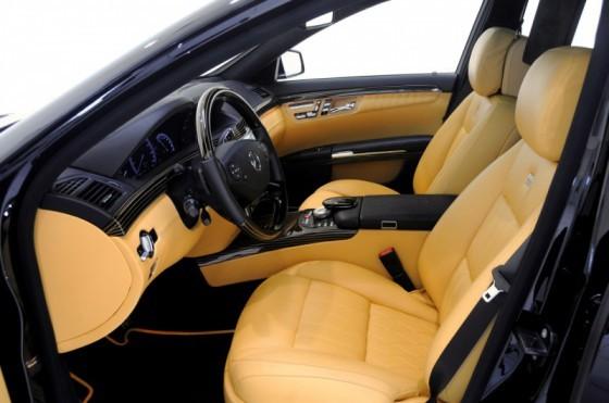 Brabus Mercedes SV12 R Biturbo 800 06 560x371 Brabus SV12 R Biturbo 800 : Luxe, hautes performances et hyper connectivité !