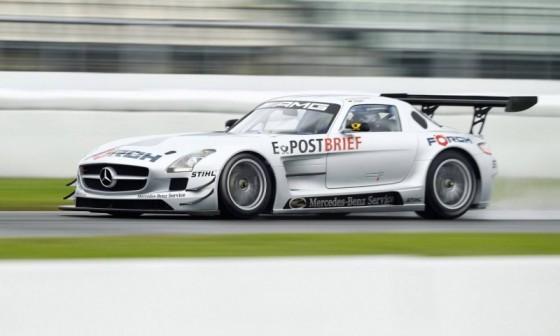 mercedes sls amg gt3 082 560x336 Mercedes SLS AMG GT3 : En essai       ( vidéo )