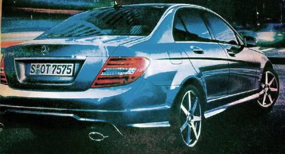 MB classe C 2011.3 Mercedes Classe C 2011 restylée : Premières images