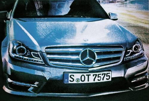 MB classe C 2011.5 Mercedes Classe C 2011 restylée : Premières images