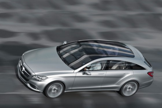 mb cls sblarge001 560x373 Mercedes CLS : La version Shooting Brake confirmée