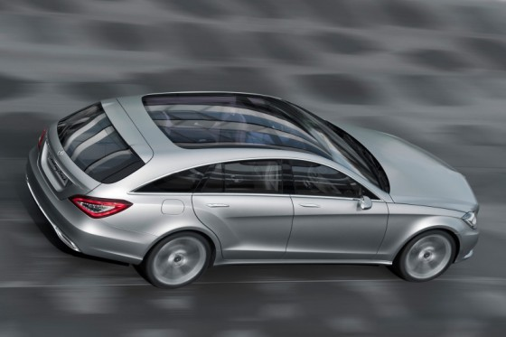 mb cls sblarge005 560x373 Mercedes CLS : La version Shooting Brake confirmée