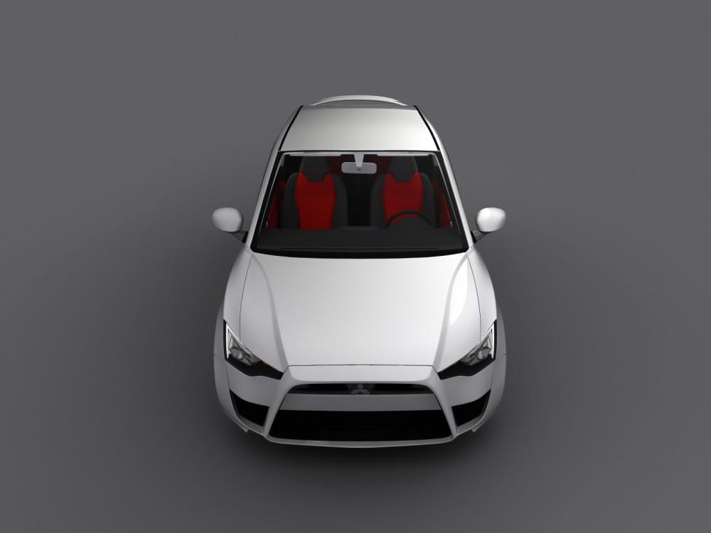 Mitsubishi Cs Concept By Gabor Farkas La Colt En Version