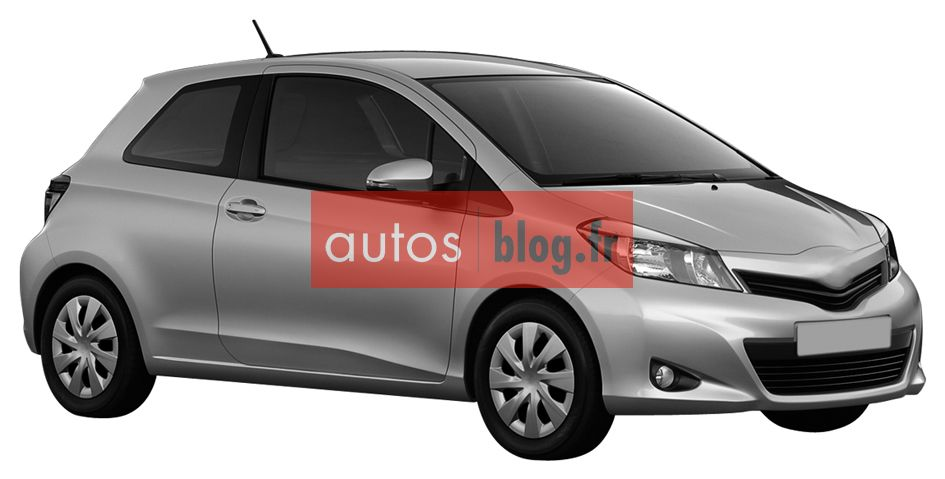 toyota yaris 2011 la version 3 portes blog automobile. Black Bedroom Furniture Sets. Home Design Ideas