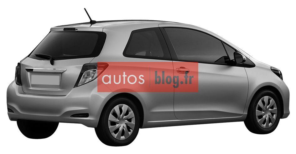 Toyota yaris 2011 la version 3 portes blog automobile for Miroir yaris