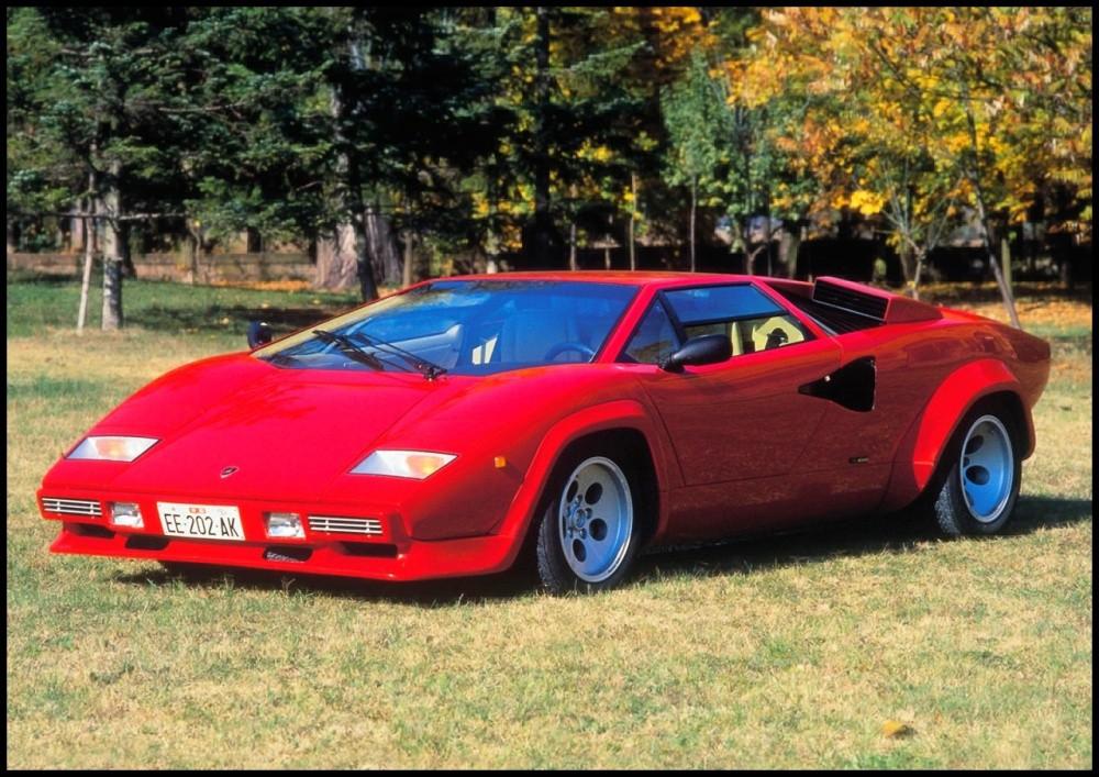 Lamborghini 1900 Km En Countach Quattrovalvole Vid 233 O