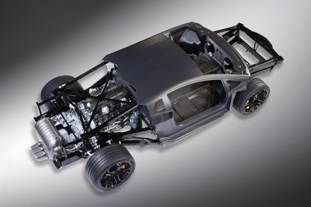 PappyDiablo: Lamborghini Aventador LP 700-4 : Le chassis