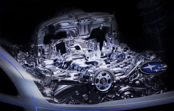 subaru coup le moteur la transmission les roues en teaser blog automobile. Black Bedroom Furniture Sets. Home Design Ideas