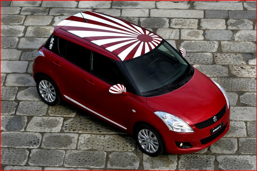 suzuki swift samurai design banza in italia blog automobile. Black Bedroom Furniture Sets. Home Design Ideas