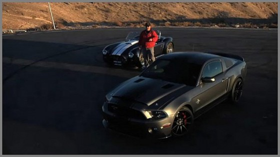 Photo cobra sc 427 vs Mustang shelby GT 500 SS 560x315 Cobra 427 SC vs Mustang Shelby GT 500 SS : Bad Girls  (vidéo)