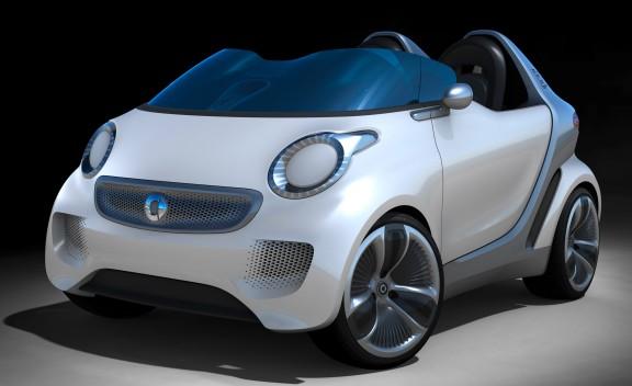 smart forspeed concept la crossblade de 2011 mais avec un moteur lectrique blog automobile. Black Bedroom Furniture Sets. Home Design Ideas