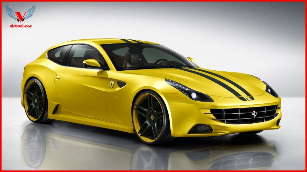 ferrari ff pas encore sur la route mais voici d j la. Black Bedroom Furniture Sets. Home Design Ideas