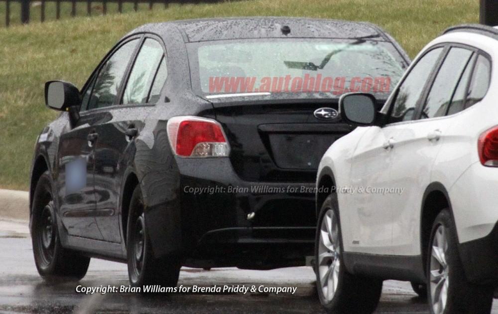 Новая Subaru Impreza.
