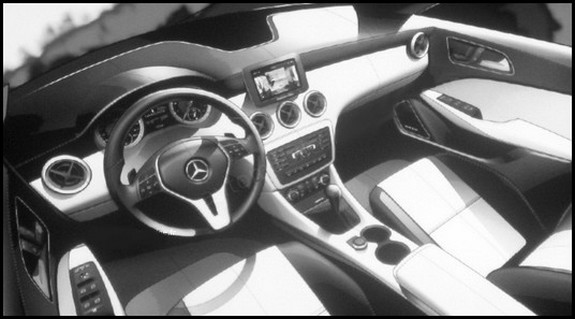 mercedes benz classe a 2012 la version 5 portes blog automobile. Black Bedroom Furniture Sets. Home Design Ideas