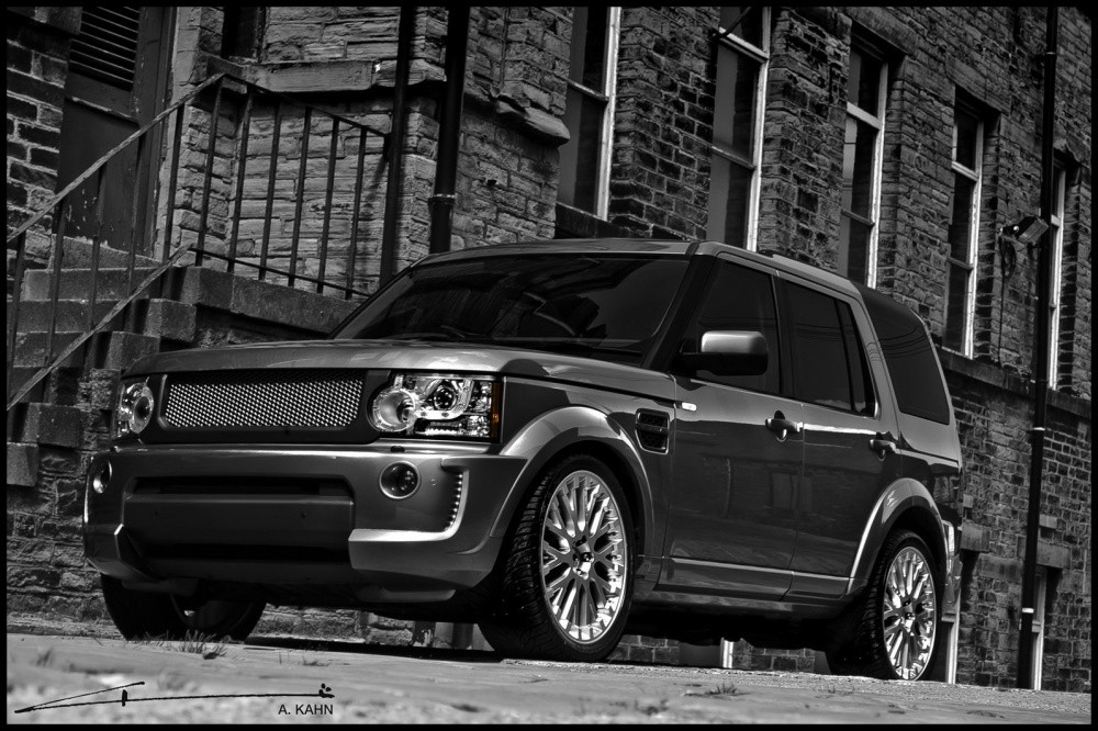 land rover discovery by project kahn belle b te blog automobile. Black Bedroom Furniture Sets. Home Design Ideas