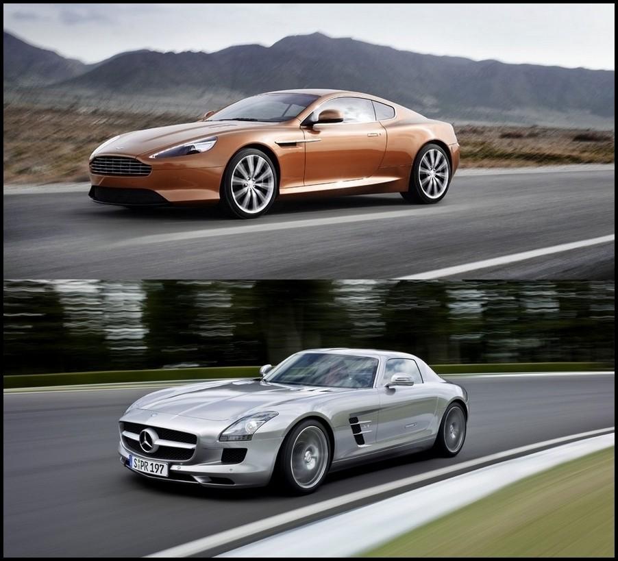 Mercedes Sls Amg Vs Aston Martin