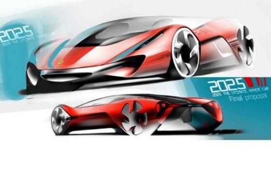 concours de design ferrari   une supercar pour l u0026 39  u00e9ternit u00e9
