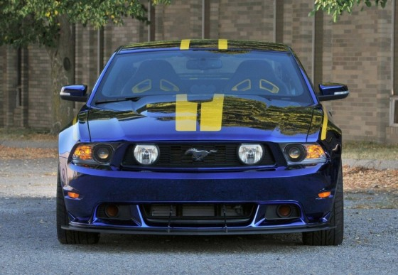 FordustangBlueAngelsEdition 02 560x387 Ford Mustang Blue Angels Edition : Only one     (vidéo)